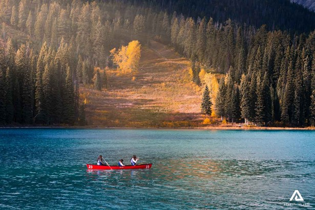 Canoeing trip in Canada