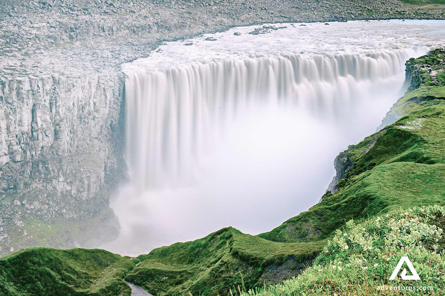 Dettifoss is most powerful waterfall in Europe
