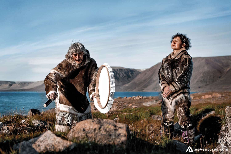 Arctic Inuit Drumming