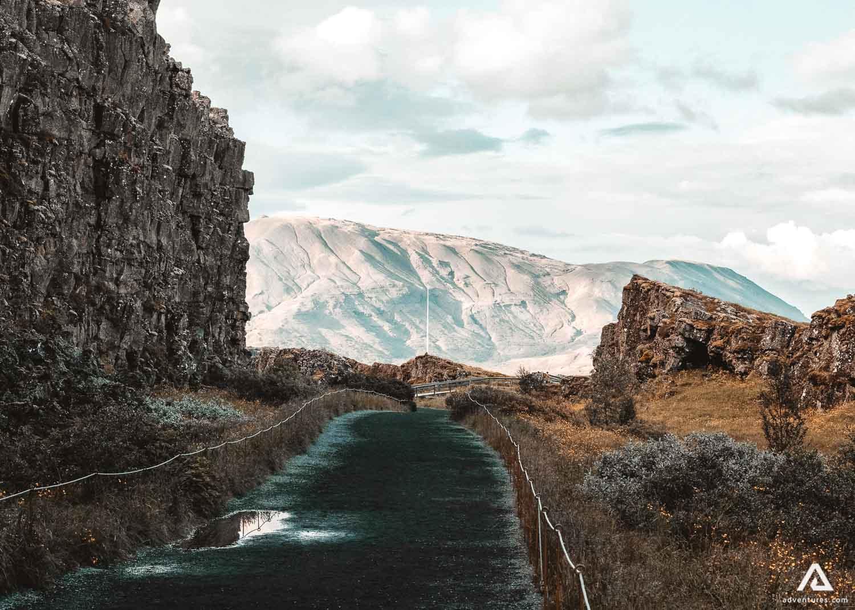Road to Thingvellir National Park