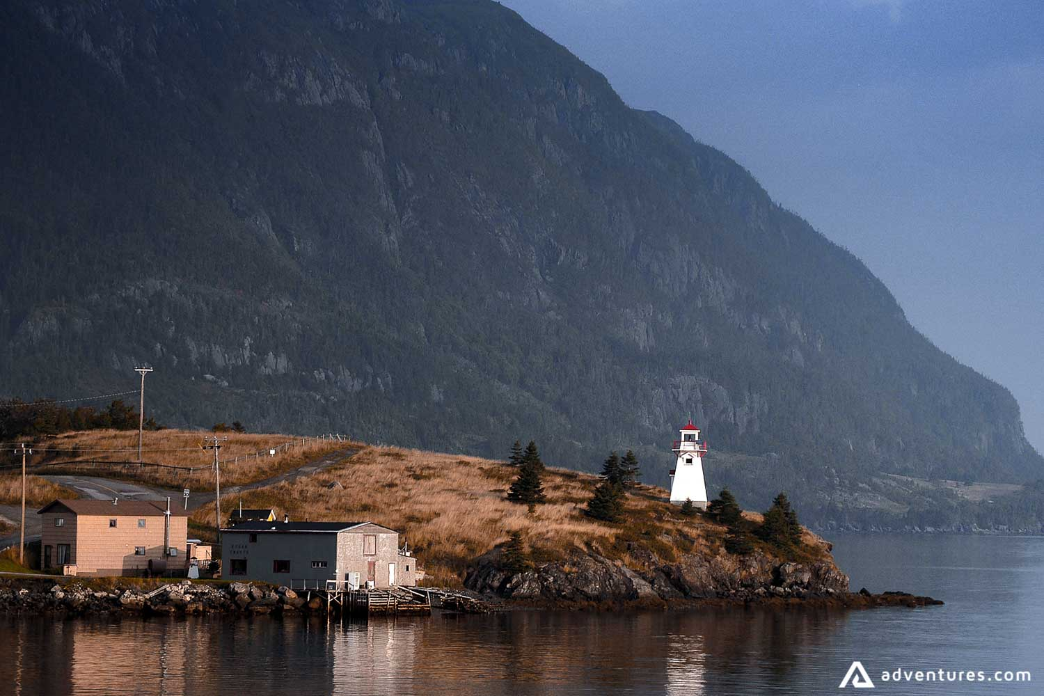 Lighthouse at the shore