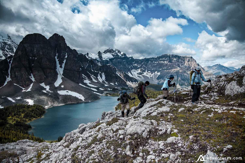 Banff Highline backpacking
