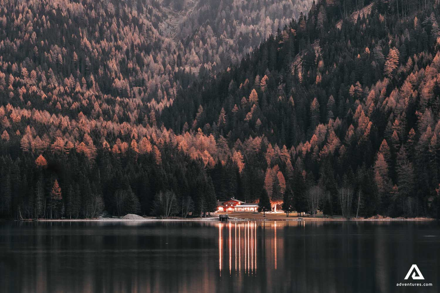 Lodge by the lake