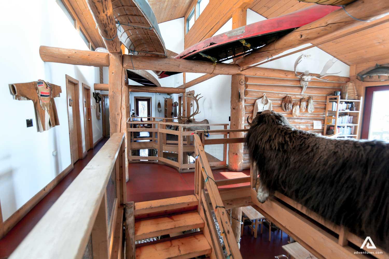 Lodge animal fur decor