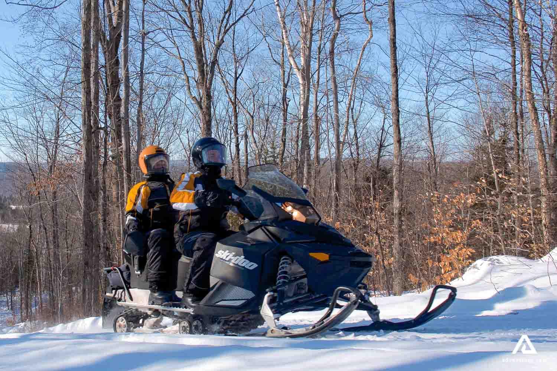 Snowmobiling in Canada