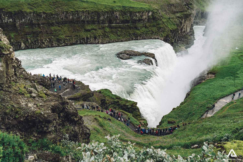 Breathtaking Gullfoss Waterfall