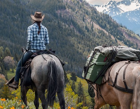 Horseback Guide Training Course in British Columbia