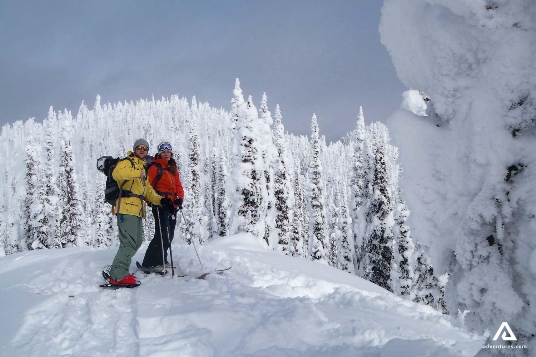 Couple on a Ski Tour