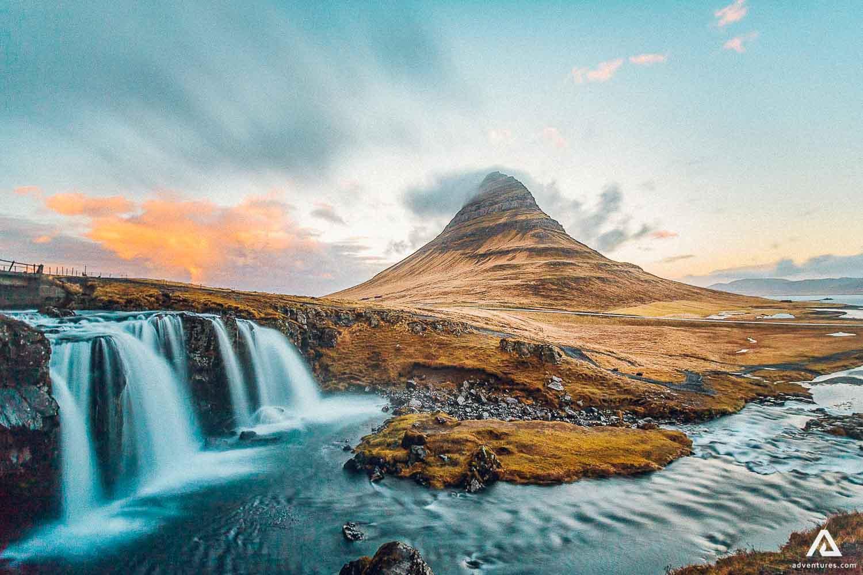 Kirkjufell And waterfall