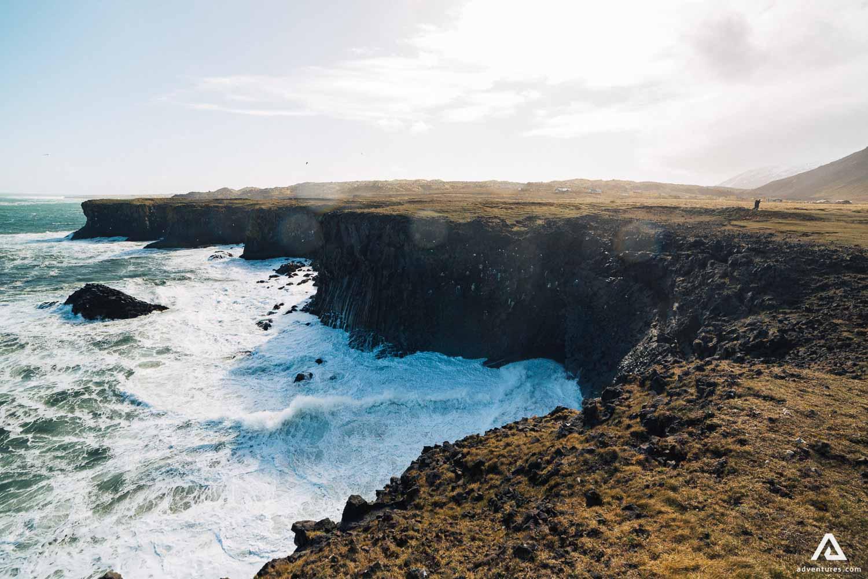 Sea cliffs of Snaefellsnes Peninsula