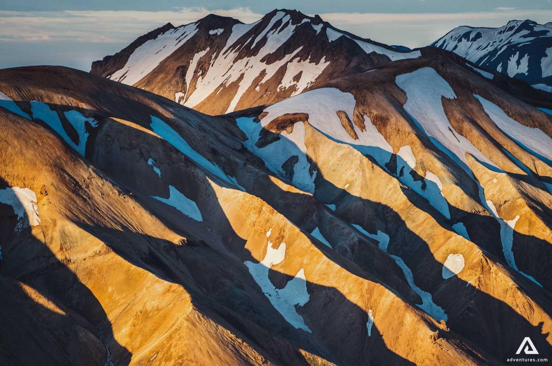 Landmannalaugar mountain range