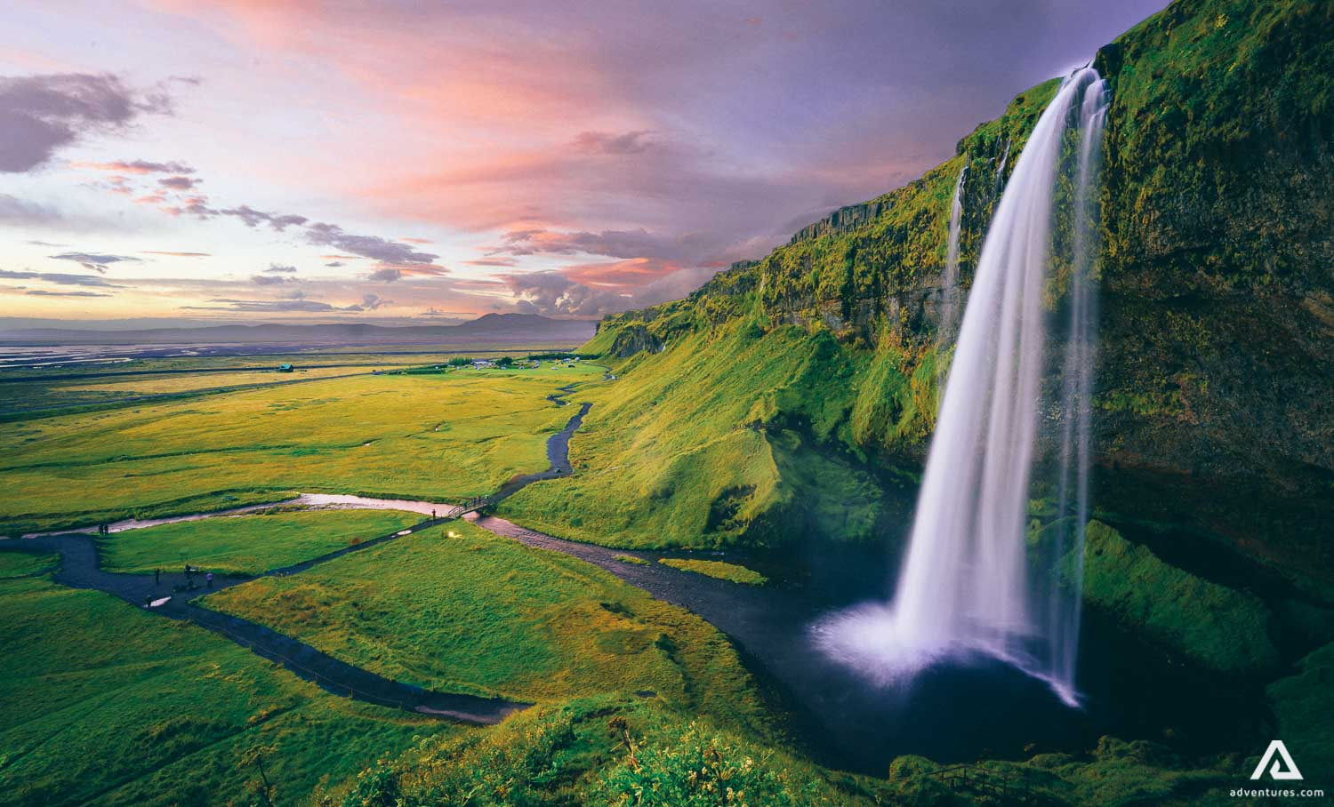 Stunning Seljalandsfoss Waterfall