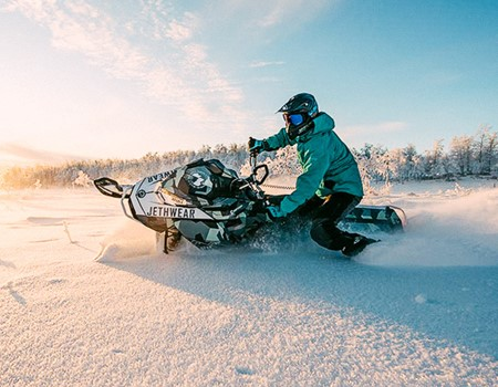 Glacier Snowmobile Tour in Northern Iceland