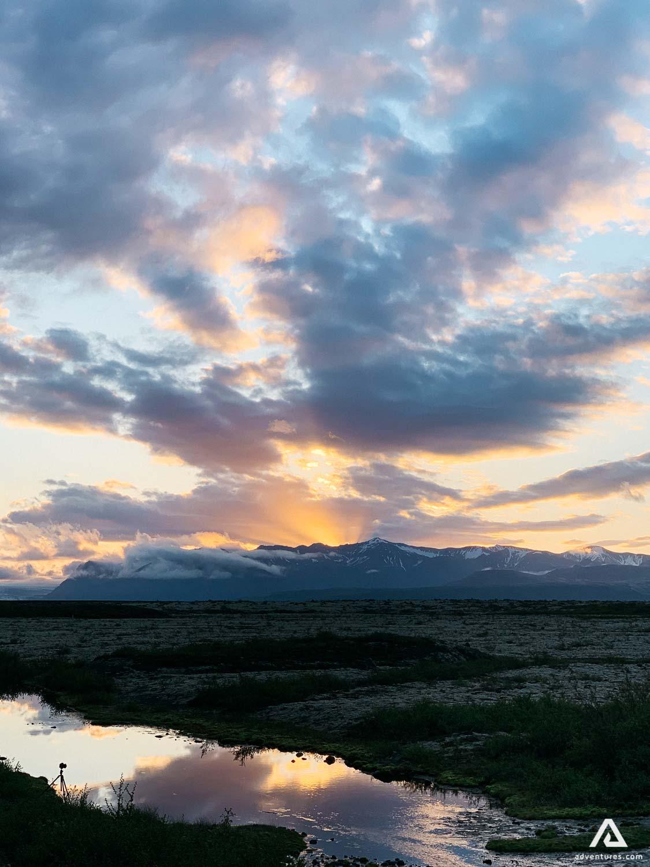 Iphone Photo Iceland Vatnajokull Sunset Nature Sky