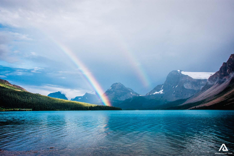 Rainbow Lake Landscape