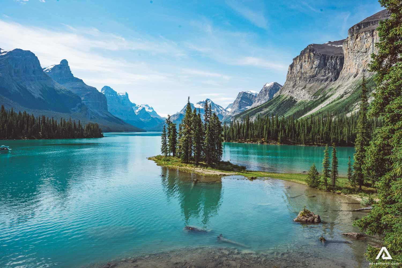 Beautiful lake in Alberta