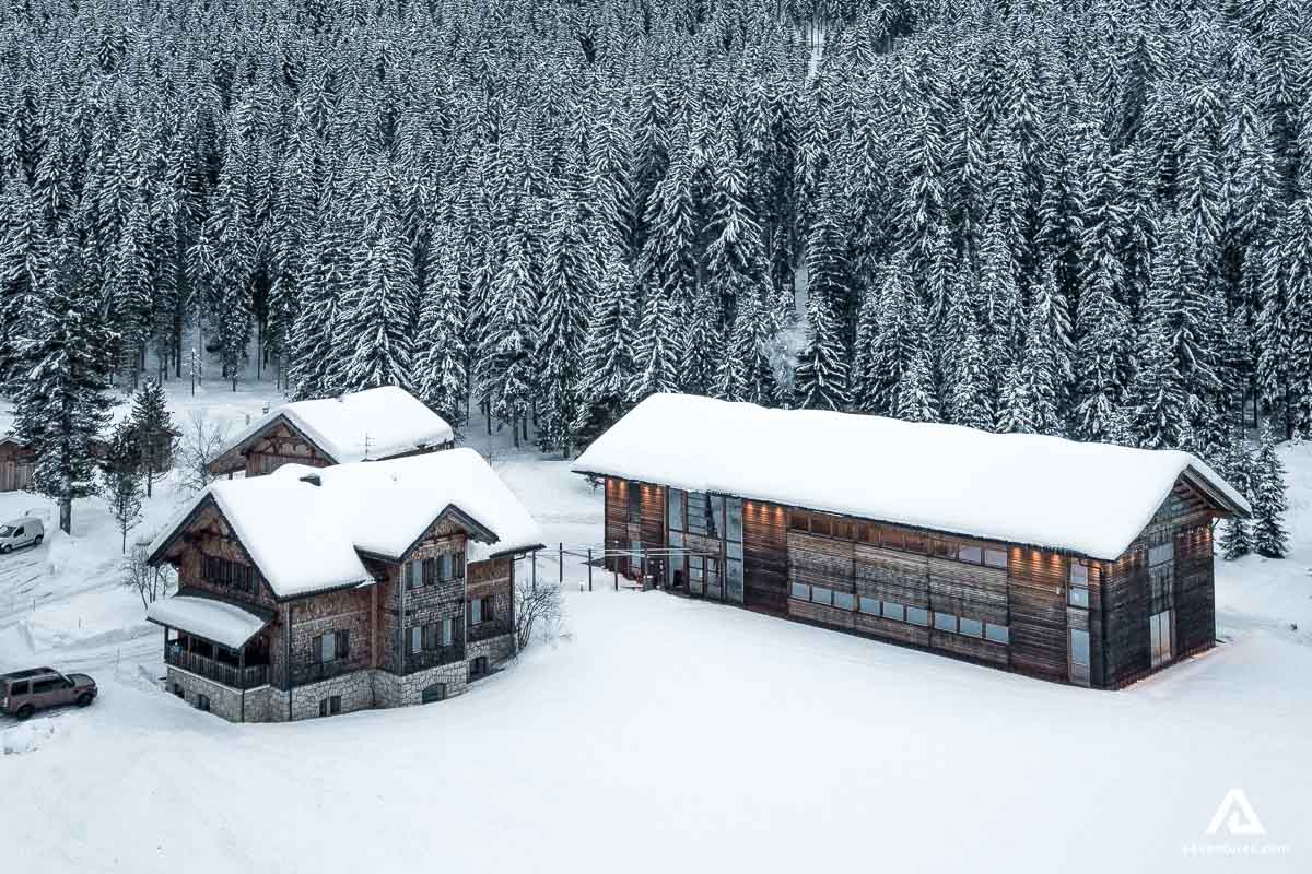 Wilderness Lodge in Winter