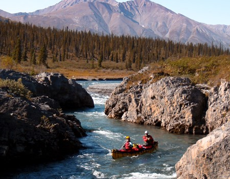 Mountain River Canoeing in the Northwest Territories