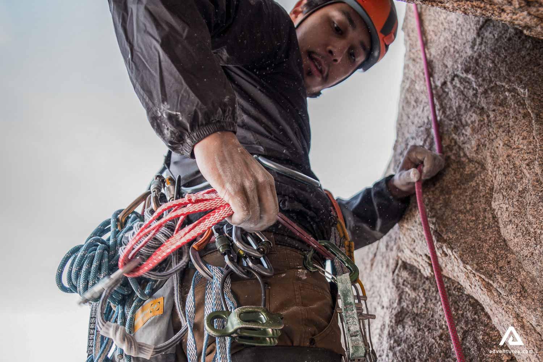 Mountain climbing Equipment