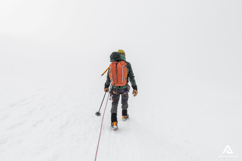 Climbing alpine of Canada